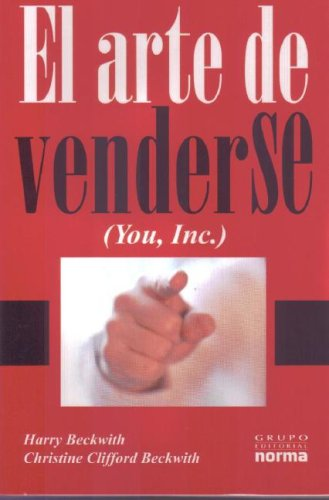 9789584500595: El Arte de Venderse/ The Art of Selling Yourself (Spanish Edition)