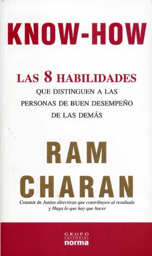 Know-How. Las 8 Habilades que distinguen a: Ram Charam