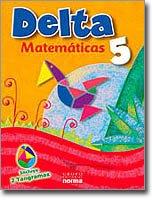 9789584509918: Delta 5 (Serie Delta Matematicas, Texto)