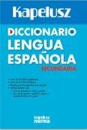9789584523044: DICCIONARIO KAPELUSZ DE LA LENGUA ESPAÑOLA (Spanish Edition)