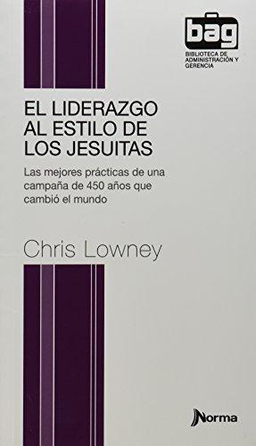 9789584540812: El Liderazgo al estilo de los Jesuitas (Bolsillo)