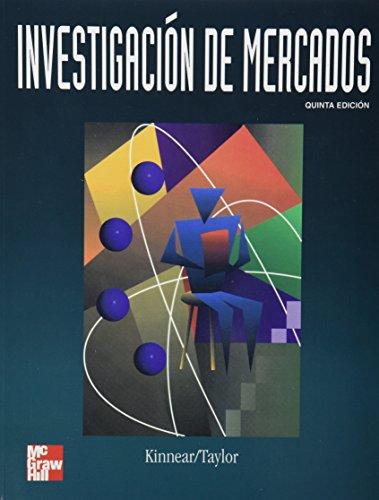 9789586007825: Investigacion de Mercados - Enfoque Aplicado 5b: Ed (Spanish Edition)