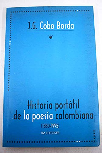 9789586016261: Historia portatil de la poesia colombiana (Spanish Edition)