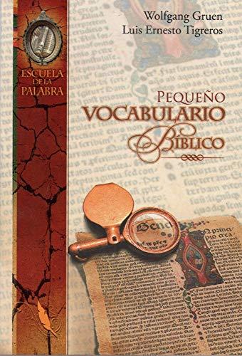 Pequeno Vocabulario Biblico: Wolfgang Gruen