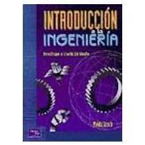 9789586990172: Introduccion a la Ingenieria (Spanish Edition)