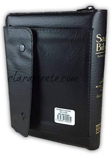 9789587452952: Biblia Letra Grande Tamaño Manual Imitacion Piel Negro con Concordancia Cierre e Index RVR 1960