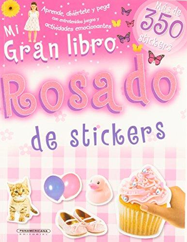 Mi Gran Libro Rosado De Stickers: Varios