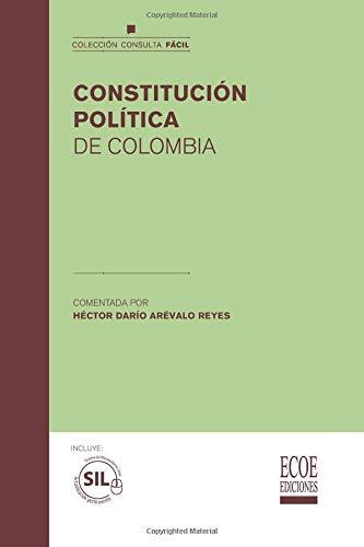 9789587712704: Constitución política de Colombia (Spanish Edition)