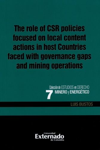 THE ROLE OF CSR POLICIES FOCUSED ON: BUSTOS, Luis