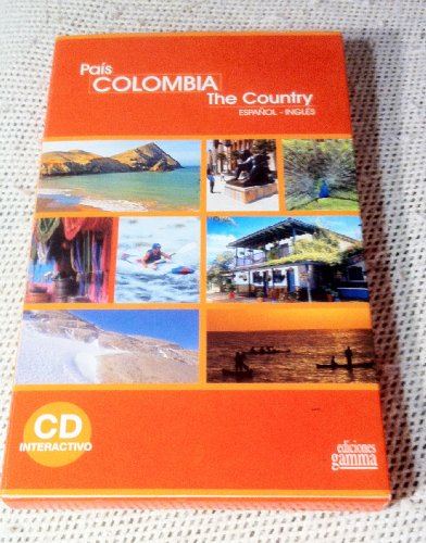 9789588177694: PAIS COLOMBIA THE COUNTRY ESPAÃ'OL-INGLES CD INTERACTIVO