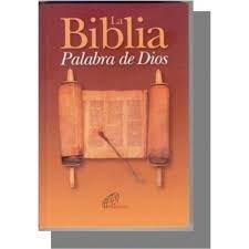 Biblia Catolica - La Biblia Palabra de: Sociedades Biblicas Unidas