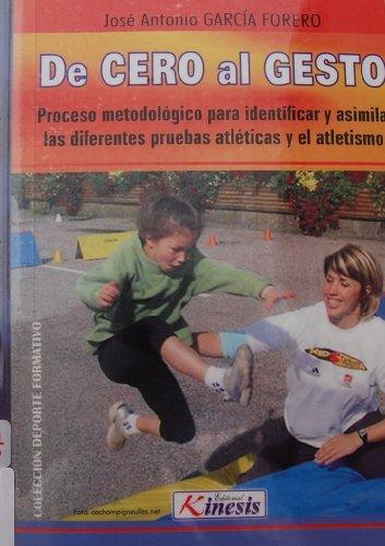De Cero al Gesto: Proceso metodologico para: Jose Antonio Garcia