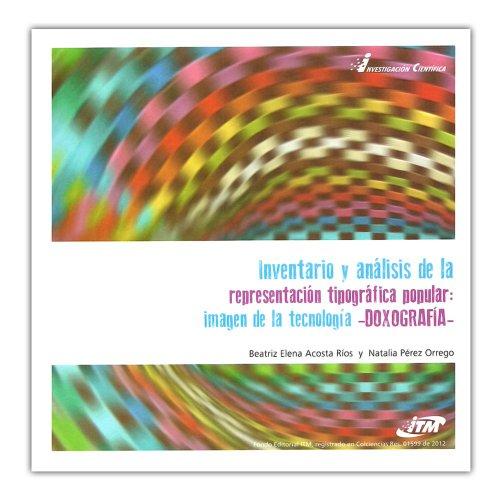Inventario y análisis de la representación tipográfica: Beatriz Elena Acosta,