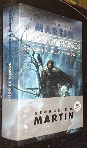 JUEGO DE TRONOS - CANCION DE HIELO: Martin, George R.R.