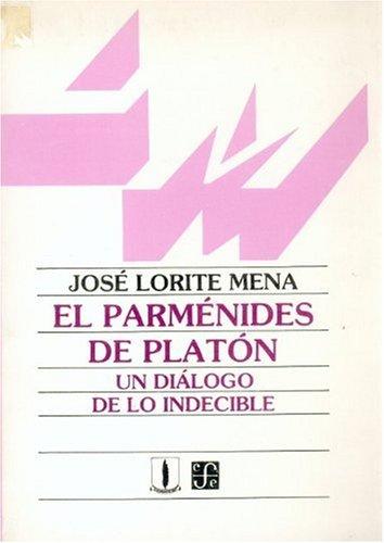 9789589093009: El Parmenides de Platon