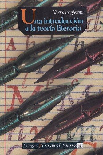 9789589093993: Una Introduccion a la Teoria Literaria (Spanish Edition)