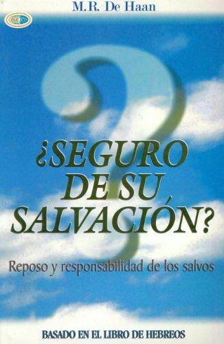 9789589149850: Seguro de su Salvacion? / Hebrews (Spanish Edition)