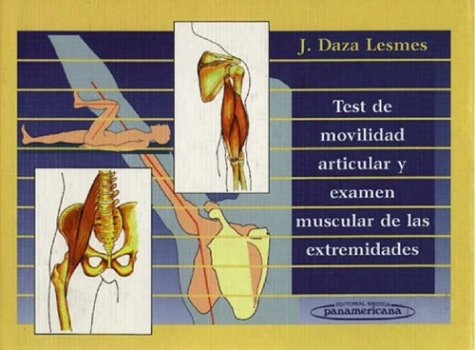 9789589181232: Test de Movilidad Articular y Examen (Spanish Edition)