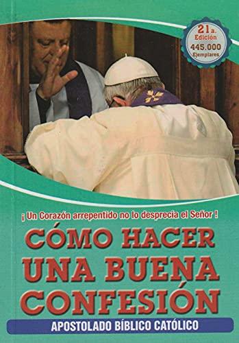 9789589492642: Como Hacer Una Buena Confesion (Spanish Edition)