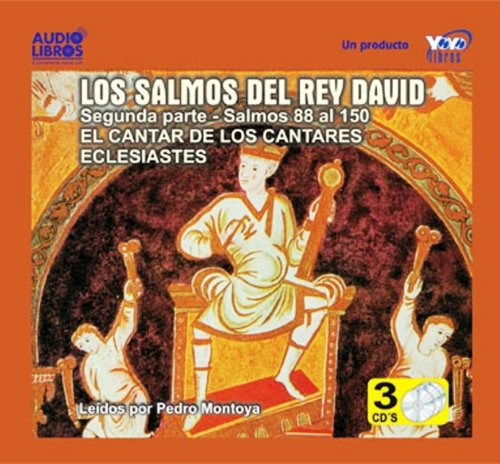 Salmos Rey David 2nd Pt., Audio Book on CD. The Psalms: REY DAVID