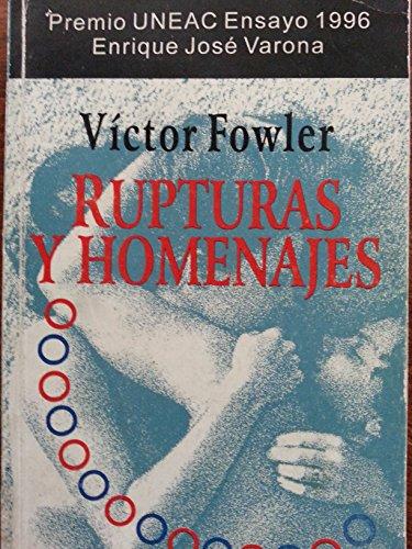 9789592092334: Rupturas y homenajes (Spanish Edition)
