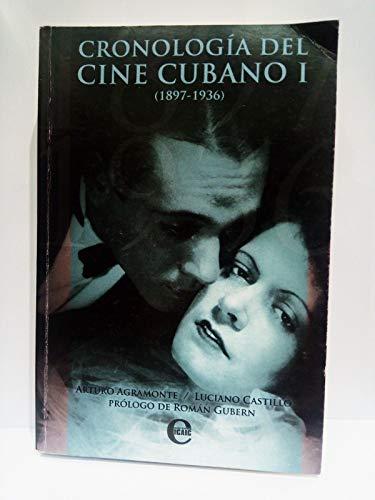 9789593040877: Cronologia Del Cine Cubano I 1897-1936