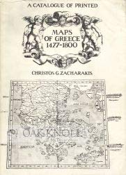 9789602201930: A catalogue of printed maps of Greece, 1477-1800
