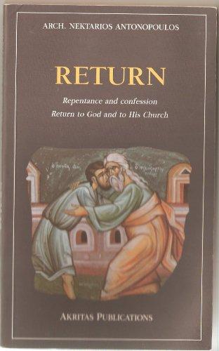 Return [Paperback]: Arch. Nektarios Antonopoulos