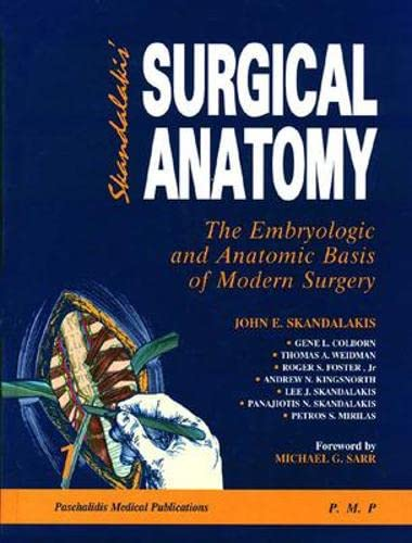9789603991199: Surgical Anatomy: The Embryologic and Anatomic Basis of Modern Surgery (2 Volume Set)
