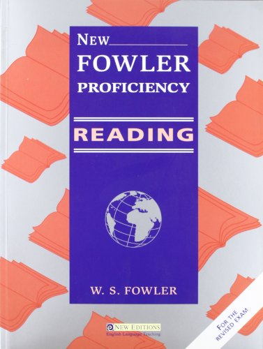 New Fowler Proficiency Reading: Teacher's Book (9604030310) by Fowler, W.S.