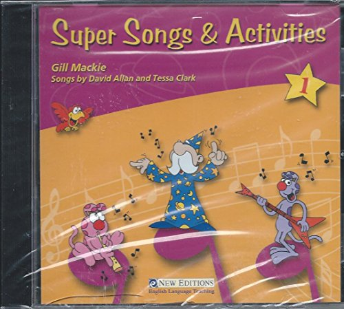 9789604030484: Super Songs and Activities 1 (Set 1)
