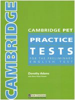 Cambridge Ket Practice Tests: Adams, Dorothy; Piniaris,
