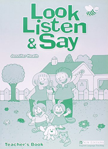 9789604033577: Look, Listen and Say Pupil's Book And Audio CD