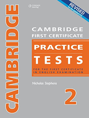 9789604034512: Cambridge First Certificate Practice Tests - Teacher's Book 2