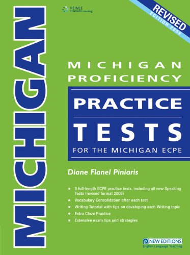 9789604034765: Michigan Proficiency Practice Tests for the Michigan ECPE Revised Edition 2009