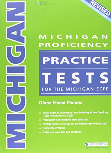 9789604034772: Michigan Proficiency Practice Tests for the Michigan ECPE Revised Edition 2009 Teacher's Book