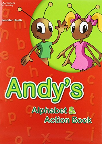 9789604035397: ANDY'S ALPHABET AND ACTION BOOK W/AUDIO CD
