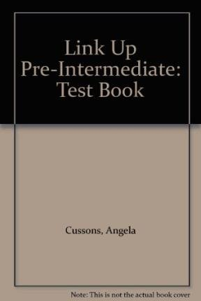 9789604036431: Link Up Pre-intermediate: Test Book