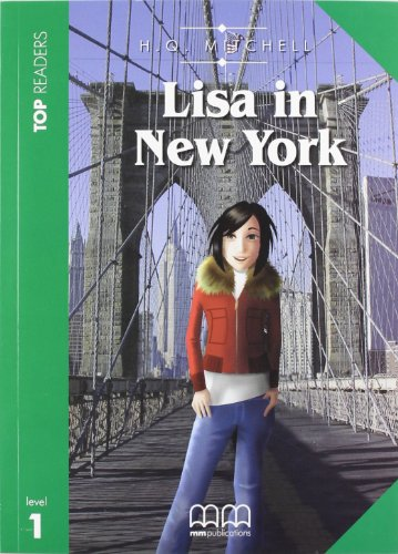 9789604436613: Lisa in New York. Top readers. Level A1 beginner. Con CD Audio