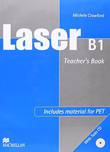 9789604471515: Laser B1 TB w Test CD: Teacher's Book and Tests