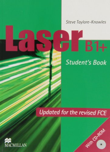 9789604471591: Laser B1+ Pre-FCE (New Edition) Student's Book with CD-ROM