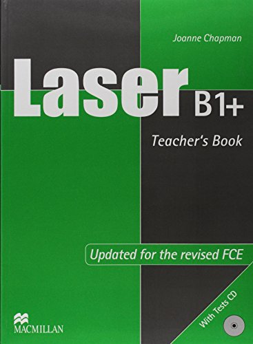 9789604471621: Laser B1+ Pre-FCE (New Edition) Teacher's Book with Test CD: Teacher's Book and Tests