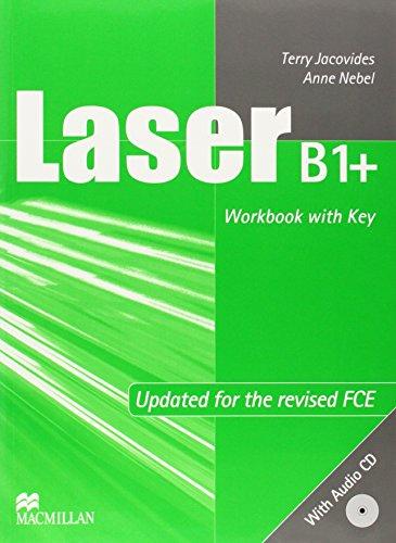 9789604471676: Laser B1+: Workbook (with Key)