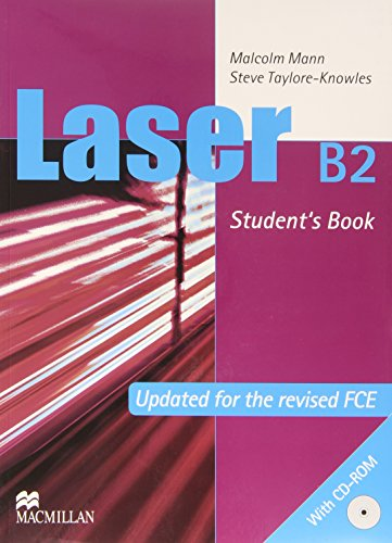 Laser B2 Student Book & Cd Pack: Malcolm Mann and