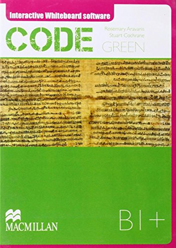 9789604472970: Code Green B1+ Interactive Whiteboard Material