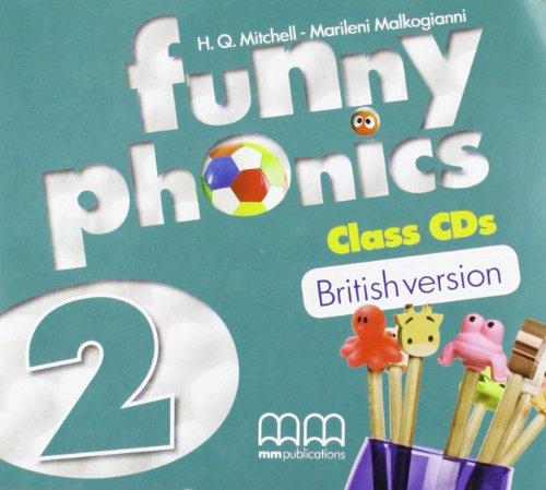 9789604788798: Funny Phonics 2: Class CDs (audiokurs na 2 CD)