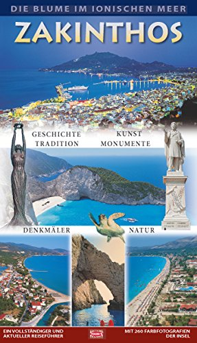 9789605408435: Zakynthos, the Flower of the Levant Toubis Edition Guide