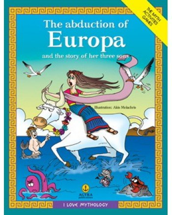 9789605470401: The Abduction Of Europa And The Story Of Her Three Sons