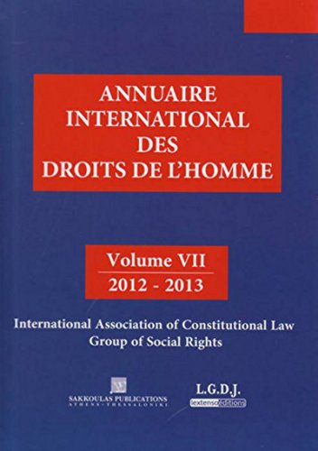 Annuaire international des droits de l'homme / 2012-2013 : international association of ...