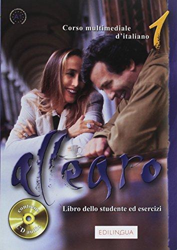 9789606632136: Allegro: Libro Dello Studente Ed Esercizi 1+CD (Italian Edition)